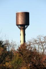 Réservoir d'eau en cas d'incendie