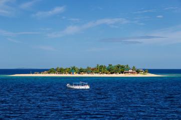 South Sea Island in Mamanuca Island group, Fiji