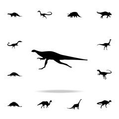 Ornithopoda icon. Detailed set of dinosaur icons. Premium graphic design. One of the collection icons for websites, web design, mobile app