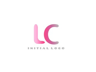 LC Initial Logo for your startup venture
