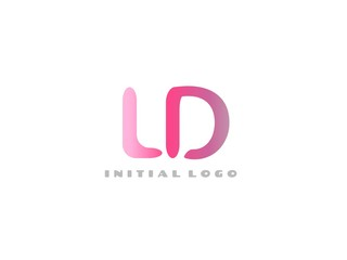 LD Initial Logo for your startup venture