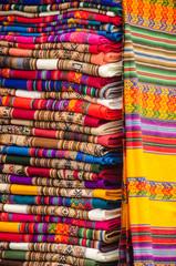 Peruvian Textiles at the Market