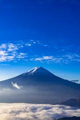 Fotomurales - 新道峠より雲海と富士山