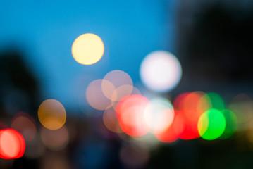 lights bokeh background – light texture