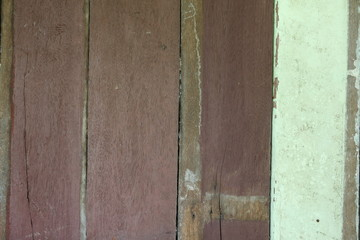 Wall Mural - old wood background