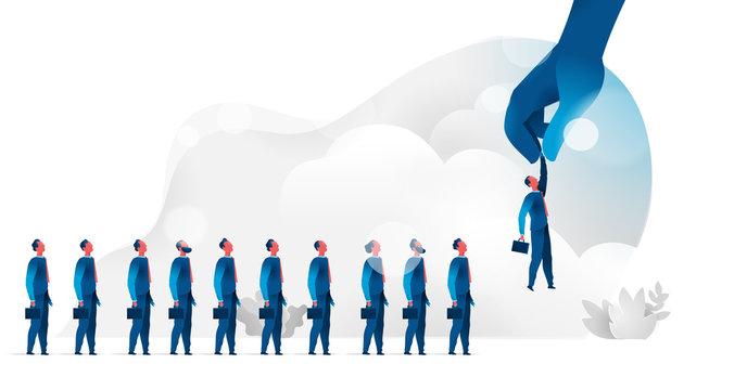 Salesforce selection