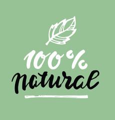Hand drawn doodle eco bio vegan green set