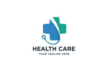 Medical pharmacy logo template