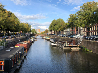 Canal in Groningen