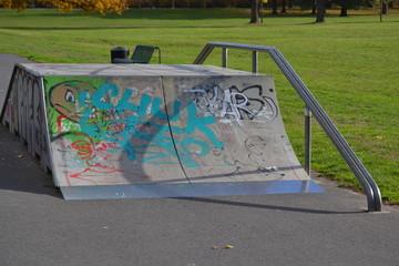 Skater Rampe im Park