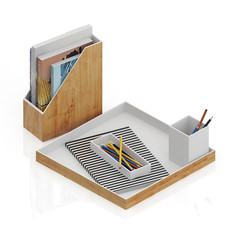 Isometric interior decoration