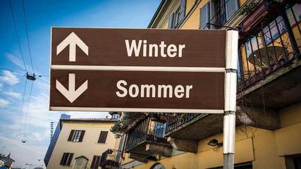 Schild 384 - Winter