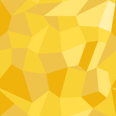 Abstract vector seamless pattern in polygonal style. Geometric background of yellow polygons. EPS10. Can be used as print on cover or cloth.