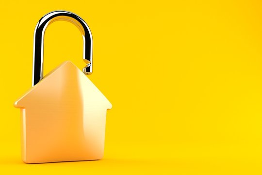 House padlock concept