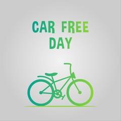 car free day design