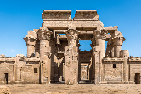 The Graeco Roman Temple at Kom Ombo