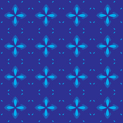 Brown royal pattern. The Seamless vector background