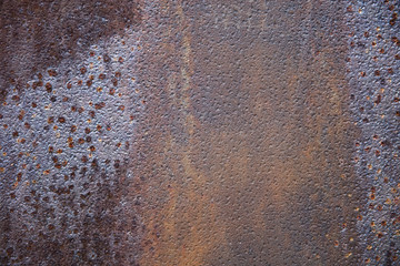 Rusty metal backdrop