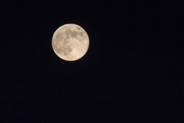 Vollmond bei Nacht