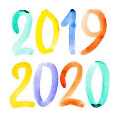 Happy New Year 2019, 2020