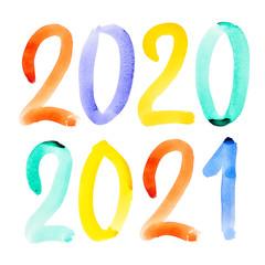 Happy New Year 2020, 2021