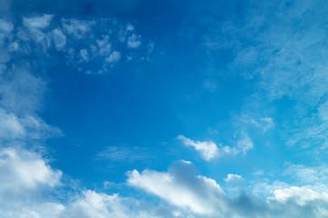 Celestial landscape with white cloud