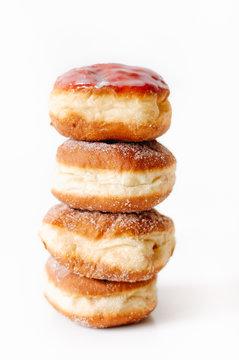 German or Austrian donuts, so called Krapfen