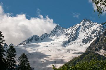 The beautiful landscape of the Caucasus Mountains Dombai
