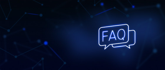 Frequently Asked Questions, Question and Answer icon, Contact us, FAQ page, write to us, solutions, help desk, customer care, support, website landing page, background