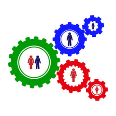 Conceptual topic. The mechanism of creating family relationships