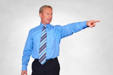 gesture, businessman, to exhibit with finger
