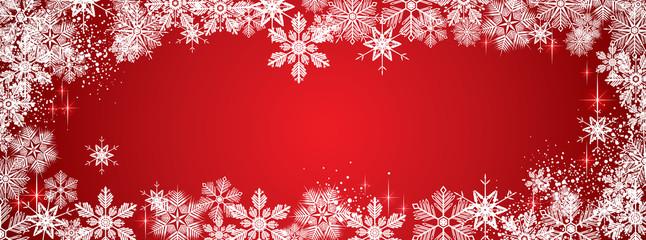 Winter snowy background