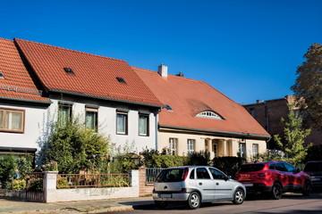 Fotomurales - Köthen mit Eichendorff-Haus