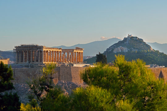 Parthenon at sunrise