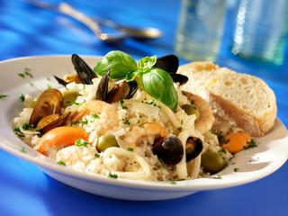 ITALIAN SEAFOOD RISOTTO