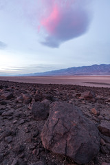 Volcanic rock formations at Death Valley National Park