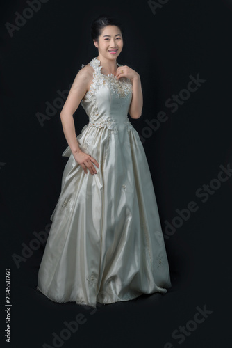 Beautiful Bride Perfect Style Wedding Hairstyle Make Up Luxury