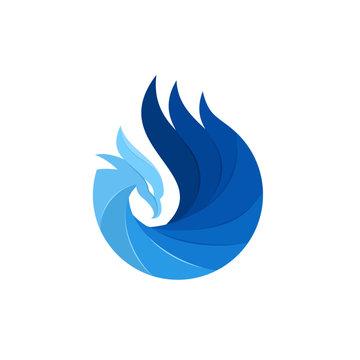 Luxury Phoenix Logo Template