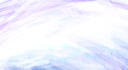 Subtle pale blue background with lavender and cornflower hues. Vector graphics