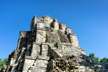 Mayan pyramid in Muyil