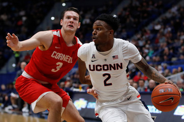 NCAA Basketball: Cornell at Connecticut
