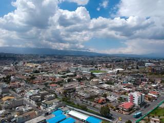 Foto op Canvas Ciudad a medio dia