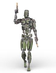 歩くロボット