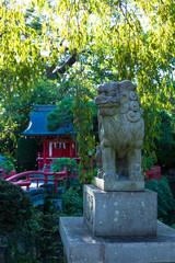 三嶋大社の狛犬 日本の神社