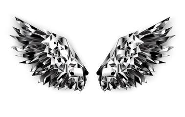 Black mirror wings