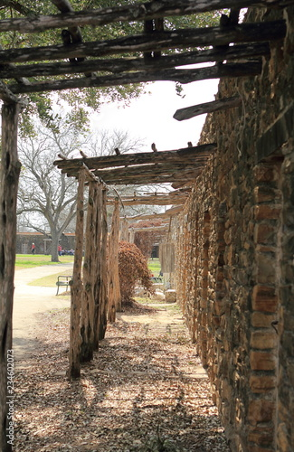 Old Historic Tower in Comanche Lookout Park, San Antonio, Texas
