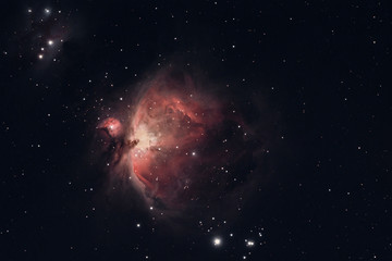 The Orion Nebula photographed from Wachenheim in Germany.