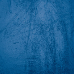 Wall Mural - Beautiful Abstract Grunge Decorative Navy Blue Dark Stucco Wall Background. Art Rough Stylized Texture Banner