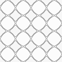 Black and white geometric background with thin lines. Seamless background in minimalist style.