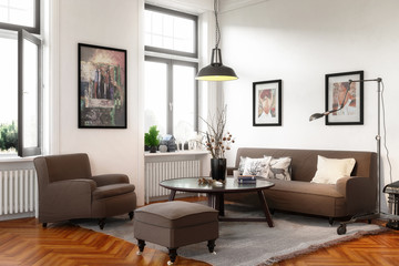 Retro Style Apartment